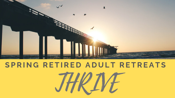 Spring Coastal Adult Retreats 2019